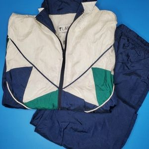 Vintage abstract tracksuit